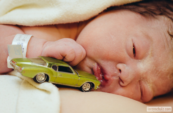 Miguelitos Little Green Car-9472