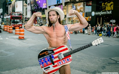 Entertaining with The Naked Cowboy